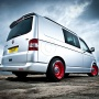 VW T5 running Banded Steels